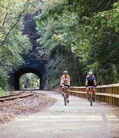 Looking for a fun way to get outdoors this summer? See southern York County by hiking, biking, jogging or horseback riding on the rail trail that connects Downtown York with Maryland's Northern Central Railroad Trail. York Pennsylvania, York Pa, Bike Trails, Biking, Kayak, Travel Tours, Travel Ideas, Get Outdoors, Camping