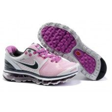 sneakers for cheap b1845 a3c3e Femme Nike Air Max 2009 Netty BlancViolet Original Air Jordans, Air Max  2009
