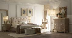 Un tocco di raffinatezza per la vostra casa: la #CollezioneFru-Fru  vi propone una camera da letto romantica ed elegante. #ArredoConStile #2Elle #FalegnameriaArtigianaleToscana