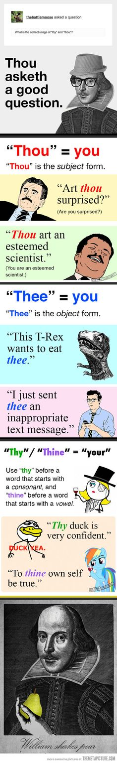 This T-Rex wants to eat thee... A clearly underused sentence in the English language!