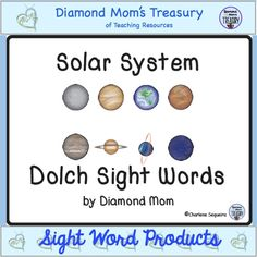 Solar System Dolch Words