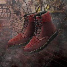 Rigal. A modern take on our iconic 8-eye boot, the Rigal features a lightweight construction and breathable tech-knit upper.