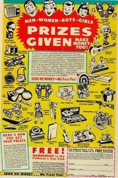 Comic book ad Mad Magazine