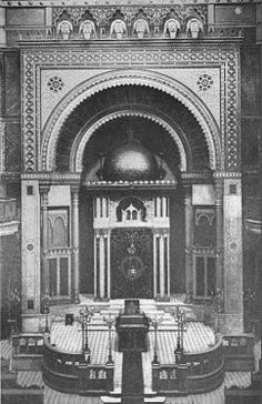 The Türkischer Tempel was a synagogue in Vienna. It was built specifically for a community of Sephardi Jews, who originally came from Turkey. The synagogue was built in a Turkish, almost Islamic style, with a dome. The building was destroyed during the Reichskristallnacht in 1938.