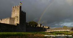 Medieval Ireland- Fethard- medieval  town wall and tower house, www.enjoy-irish-culture.com