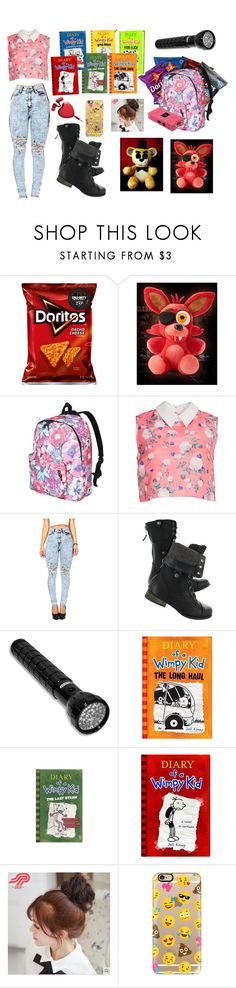 """""""Night Watching at Freddy Fazbears!"""" by sweetheartlaina ❤ liked on Polyvore featuring Freddy, ERIN Erin Fetherston, Pin Show and Casetify"""