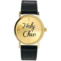If the Holy Chic Watch fits, wear it! @Polyvore #ShopPolyvore