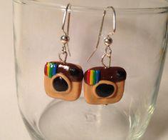 Instagram earrings!