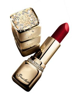 Guerlain Kiss Kiss Diamonds Lipstick is  $65,000.00 as it is encased in gold & diamonds & is refillable.