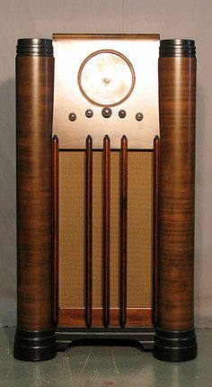 art deco radio cabinet - Bing Images