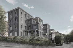 Abschlussarbeit: Ein städtisches Haus aus Holz, Yannick Charpié, Eidgenössische Technische Hochschule Zürich - Campus Masters | BauNetz.de