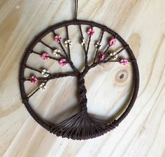 Tree of Life Dream Catcher by LittleTreeHugs on Etsy