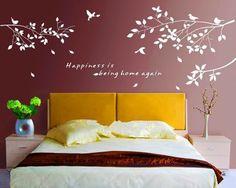 consider design for bathroom DIY Bird Mural Removable Quote Wall Sticker Art Vinyl Room Decor Home Decal