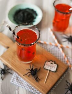 Hocus Pocus Fizz Drink Recipe   Spooky! This drink recipe is so good, it's scary!