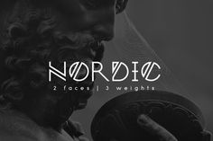 Nordic font is a new typeface that is created by Yana Bereziner from the Norwegian runes inspiration. Nordic font consists on unusual regular typeface which is perfect for logotype, poster, headlines, t-shirt design and more. Business Brochure, Business Card Logo, Web Design, Logo Design, Graphic Design, Nordic Runes, Logo Minimalista, Best Free Fonts, Font Free
