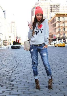 How to Wear Blue Jeans: 60 Outfits to Inspire | StyleCaster