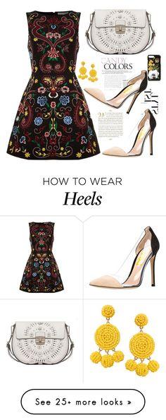 """FSJ transparent high heels pumps"" by fsjamazon on Polyvore featuring Alice + Olivia, Humble Chic, Dolce&Gabbana, Furla, Heels, women and Fahionset"