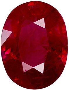 This Genuine Red Ruby Gemstone Displays A Vivid Open Rich Red, Ideal Color, Excellent Clarity And Life On This Very Well Cut Stone With Great Proportions And Outline, Very Pretty. Note For A Personal