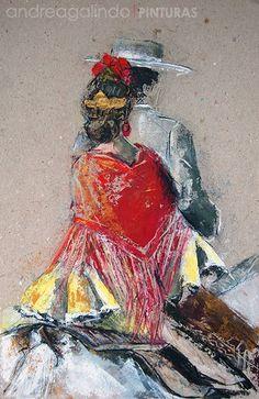 Andrea Galindo. Pintura: A LA GRUPA Fabian Perez, Spanish Art, Weird Art, Figure Painting, Female Art, Silhouette, Landscape Paintings, Abstract Art, Art Deco