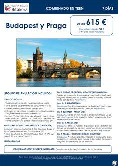 Budapest y Praga en tren: 7 días, desde 615 € + tasas - http://zocotours.com/budapest-y-praga-en-tren-7-dias-desde-615-e-tasas-2/