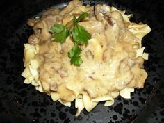 Tuesday - Paula Deen's Beef Stroganoff (Use up leftover roast beef or steak)