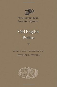 Old English Psalms (Dumbarton Oaks Medieval Library)