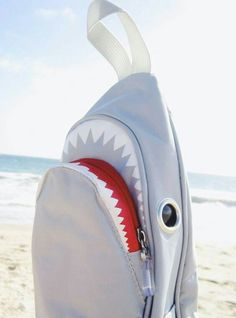 60 Unusual Attractive Handbags to Enhance Your Personality Save The Sharks, Shark Bait, Shark Shark, Shark Week, Cute Bags, Things To Buy, Bag Making, Purses And Bags, Backpacks