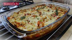 Zapiekany makaron z kurczakiem i warzywami - Gotuj.Skutecznie.Tv