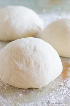 Homemade Pizza Dough Recipe - my method for making the BEST pizza dough at home!