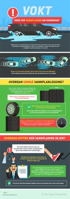 Dangers of aquaplaning / Nokian Tyres Grands Lacs, Summer Rain, New Tyres, Thunderstorms, Weather Conditions, Rainy Days, Innovation, Autos, Winter Tyres