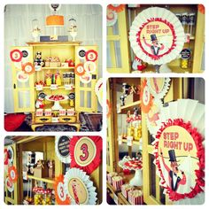 Vintage Circus Birthday Party + Dessert Table - Spaceships and Laser Beams Blog