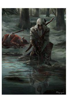 Assassin's Creed Tribute, Johann Blais on ArtStation at https://www.artstation.com/artwork/assassin-s-creed-tribute
