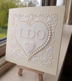 Die cut wedding by sistersandie - Cards and Paper Crafts at Splitcoaststampers