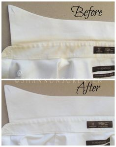 Limpieza - cleaning - using hydrogen peroxide in your laundry to whiten yellow shirts Deep Cleaning Tips, House Cleaning Tips, Natural Cleaning Products, Spring Cleaning, Cleaning Hacks, Cleaning Spray, Cleaning Recipes, Remove Yellow Stains, Remove Stains