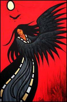 Wings of the Raven - Aaron Paquette is a First Nation/Metis artist, writer and presenter.
