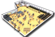 Cybex Commercial Gym Design Rendering