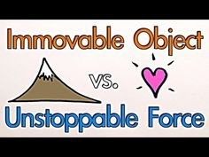 Immovable Object vs Unstoppable Force from Minute Physics Science Guy, Science Videos, Stem Science, Physical Science, Science Lessons, Teaching Science, Science Activities, Science And Technology, Teaching Ideas