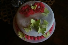 Torta fondant mariposas