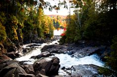 Ragged-Falls-Ontario-Algonquin-Park