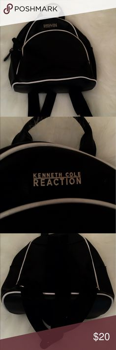 Kenneth Cole Reaction Backpack On the go? This is the purse for you! Stylish yet lightweight! Great with any outfit! Has 3 pockets please phone pockets! Great for casual, work wear! Kenneth Cole Reaction Bags Backpacks