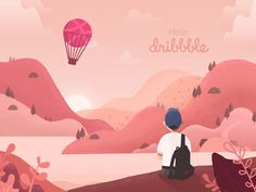 Hello dribbble by samsam33