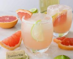 A simple Paloma cocktail recipe with a twist, made with Sauvignon Blanc white wine and freshly squeezed grapefruit juice.