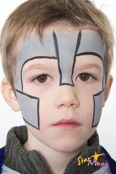 Ridder schminken | Stap-voor-stap ridder schminken