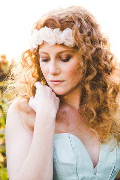 Red hair bride Styling.  Ein traumhaft schönes, natürliches Braut Make-Up für rote Haare   Friedatheres.com  Foto: Ilka Hofmann  H&M: Beauty in You by Julia Schwärzel