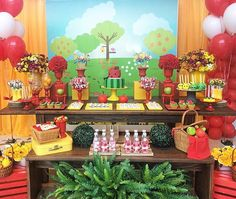 Festa infantil com tema piquenique  linda por @donnacameliafestas, adorei!  #kikidsparty