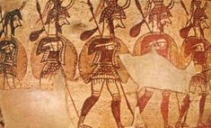 Did Mycenaean Greeks serve in the Egyptian military of Ramesses?