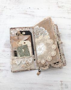 Handmade Journal Travelers Notebook Travel Journal