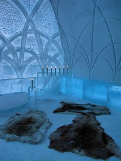 Ice Cathedral-Ice Hotel-Jukkasjarvi-Sweden