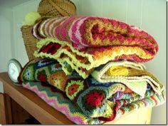 crochet blanket yumminess....