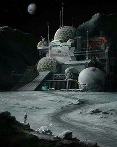 Lunar Base 01